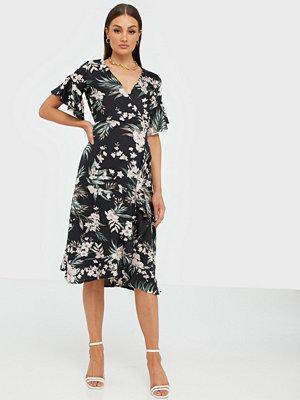 Ax Paris Flower Midi Dress