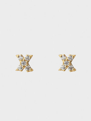 Syster P smycke Mini Stud X Earrings