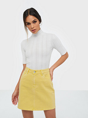 Vero Moda VMKATE HR SHORT DENIM COLOR  SKIRT