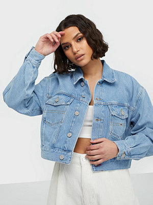 Tommy Jeans Cropped Trucker Jacket Tmyflg
