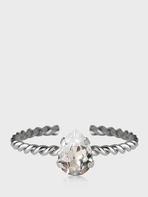 Caroline Svedbom Niki Ring Rhodium Crystal