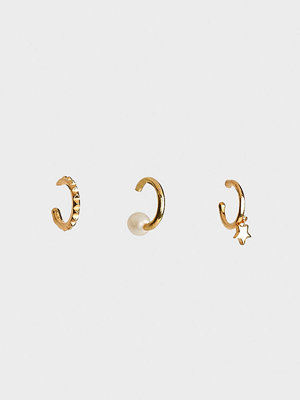 Syster P smycke Mini Cuff Collection Pearl And Star