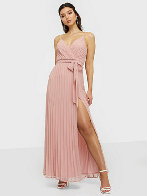 NLY Eve Perfect Strap Gown Rose