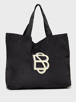 Becksöndergaard svart axelväska med tryck Solid Foldable Bag