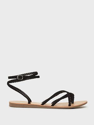 Sandaler & sandaletter - Only Onlmaya Mf Braid Ankle Wrap Sandal