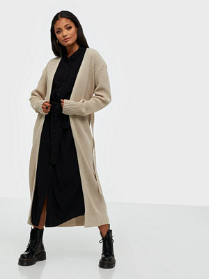 Tröjor - Missguided Belted Maxi Cardigan