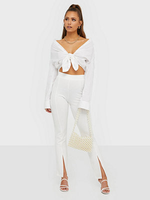 NLY Trend vita byxor Front Cut Pants
