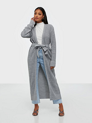Cardigans - Missguided Belted Maxi Cardigan