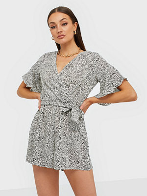 Ax Paris V Neck Playsuit