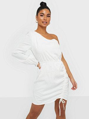 Ax Paris One Shoulder Ruched Dress