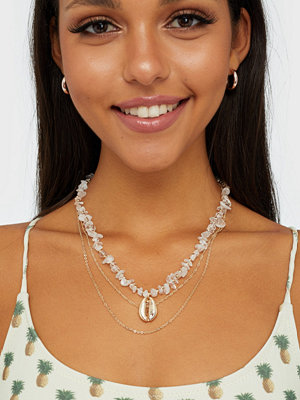 Vero Moda halsband Vmcedar Shell Necklace