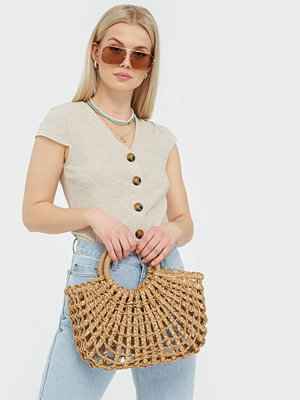 Only ONLNELLA S/S BUTTON TOP NOOS JRS