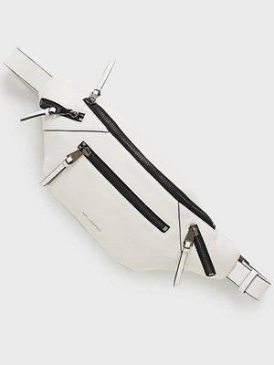 Karl Lagerfeld vit axelväska K/Odina Bumbag