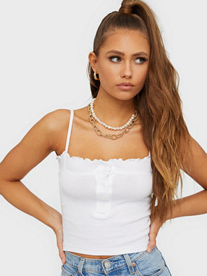 Toppar - Missguided Lettuce Edge Ribbed Crop
