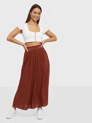 Only Onlvenedig Paperbag Long Skirt Wvn