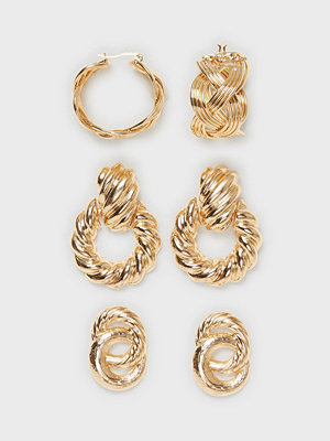NLY Accessories örhängen 3 pack Luxe Hoops