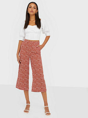 Gant mönstrade byxor D2. French Floral Fluid Culotte