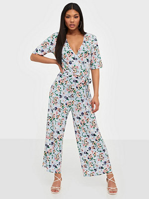 Pieces Pcduna 2/4 Aop Cropped Jumpsuit