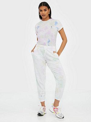 Polo Ralph Lauren mönstrade byxor Tie-Dye Fleece Joggers