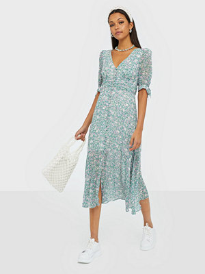 Forever New Tie Sleeve Midi Dress