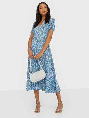 Polo Ralph Lauren Floral Crepe Wrap Dress