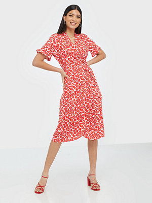 Pieces Pcamice Ss Midi Wrap Dress