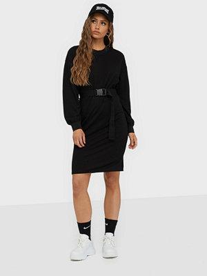 Jacqueline de Yong Jdyodetta L/S Belt Sweat Dress Jrs