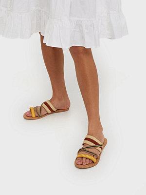 Pieces Psannilu Leather Sandal