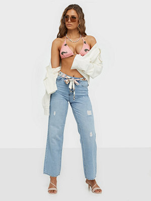 Only Onlmolly Hw Wide Lb Dnm Jeans Bj