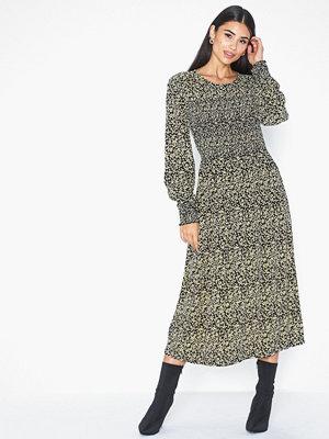 MOSS Copenhagen Celina Morocco LS Smock Dress AOP