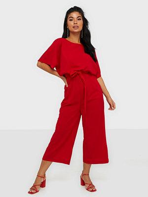 Ax Paris Short Sleeve Jumpsuit