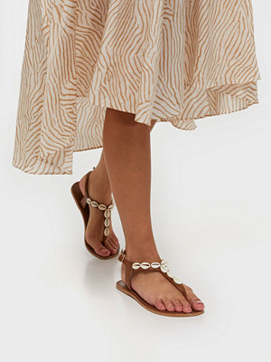 Sandaler & sandaletter - Pieces Psaggies Leather Sandal