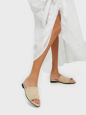 Sandaler & sandaletter - Selected Femme Slfmerle New Suede Mule B