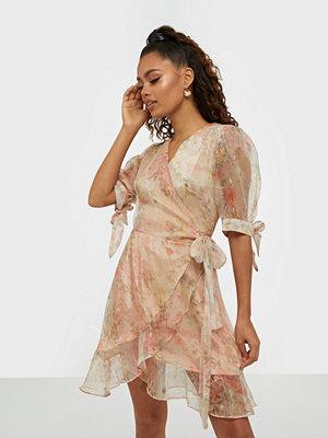 Glamorous Wrap Floral Print Dress