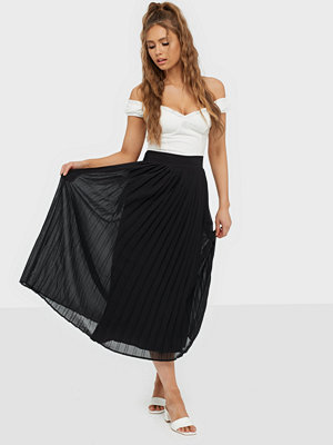 Kjolar - Vila Viplissea Hw Midi Skirt/Su/Ki