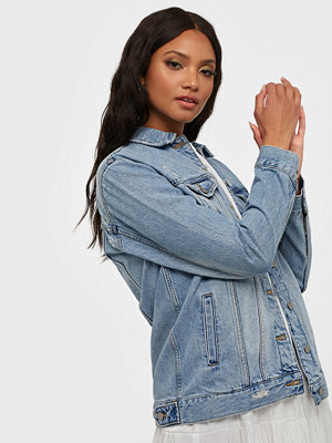 Jeansjackor - Dr. Denim River Trucker Jacket