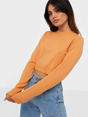 NLY Trend Cropped Flat Knit Sweater