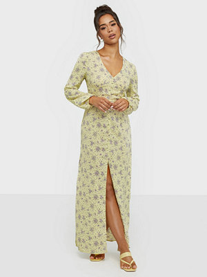 Glamorous Baloon Sleeve Maxi Dress
