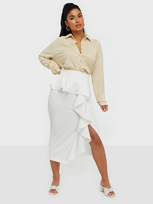 River Island Structured Midi Skirt