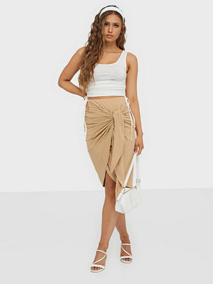 NLY Trend Wrap Tie Skirt