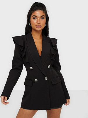 River Island Sleeved Frill Blazer