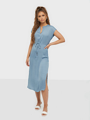 Jacqueline de Yong Jdysheela S/S Long Shirt Dress Wvn