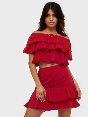 NLY Trend Frill Structure Skirt