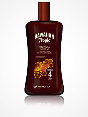 Solning - Hawaiian Tropic Tropical Tanning Oil Rich 200 ml Transparent