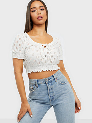 NLY Trend Cute Frill Smock Top