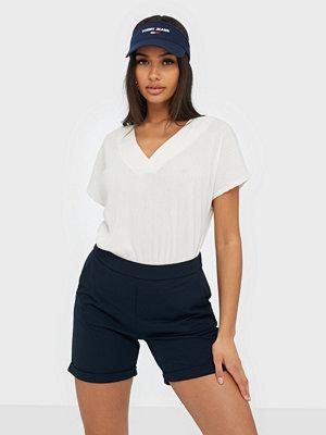 Shorts & kortbyxor - Jacqueline de Yong Jdycatia Treats Fold Up Shorts Jrs Mörk Blå