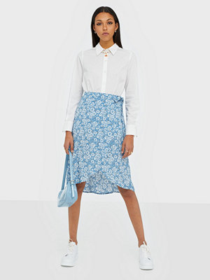 Pieces Pcmaeve Hw Wrap Midi Skirt