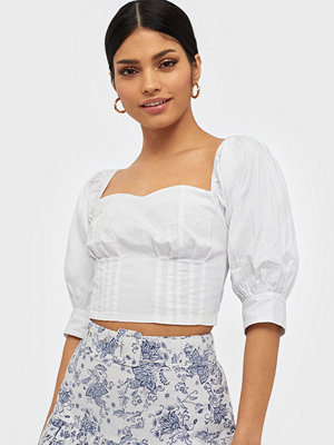 NLY Trend Shoulder Pouf Top