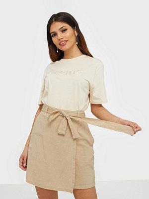 Pieces Pcalinen Hw Skirt Bc