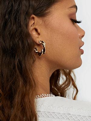 Pieces örhängen Pcacia Hoop Earrings